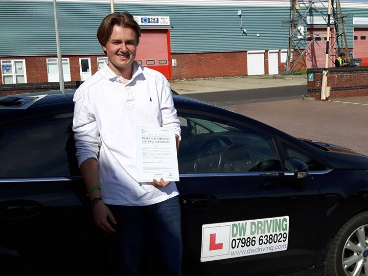 Driving lessons KelvedonCongratulations to Freddie Inglis who passed his practical driving test on his 1st attempt, with only three minor faults, at the Colchester Driving Test centre on 30 September. Now you can enjoy the independence of driving yourself around!