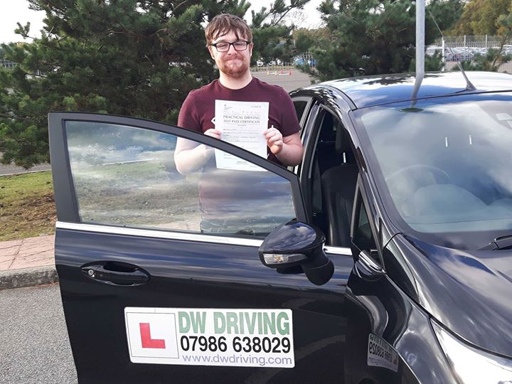 Driving lessons StowmarketCongratulations to Aaron Read who passed his practical driving test at the Ipswich Driving Test centre on 12 October. Passing your driving test and getting a new job, in the last two days - what a week!