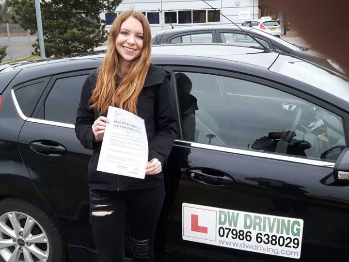 Driving lessons Stowupland  Congratulations to Lucy Orves who passed her practical driving test at the Ipswich Driving Test centre on 8 January. It's not a joke - you really have passed!!