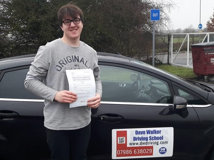 Driving lessonsCongratulations to Kyle Palmer who passed his practical driving test, with only 3 minor faults, at the Chelmsford Driving Test centre on 4th February. Have a great time driving to races in the UK and Europe.