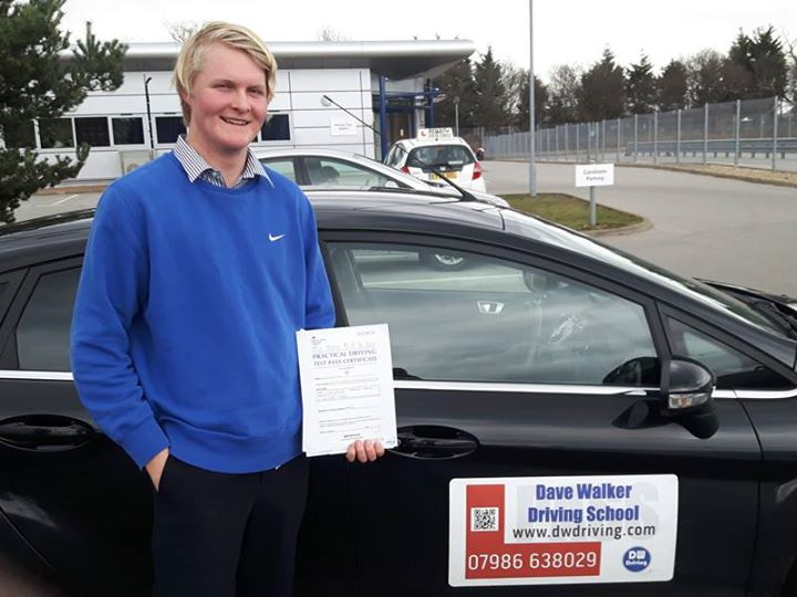 Driving Lessons Royal Hospital SchoolCongratulations to Ben Spier who passed his practical driving test on his first attempt at the Ipswich Driving Test centre on 19 March. Good luck with finding a car and remember to change sides of the road when you go home!
