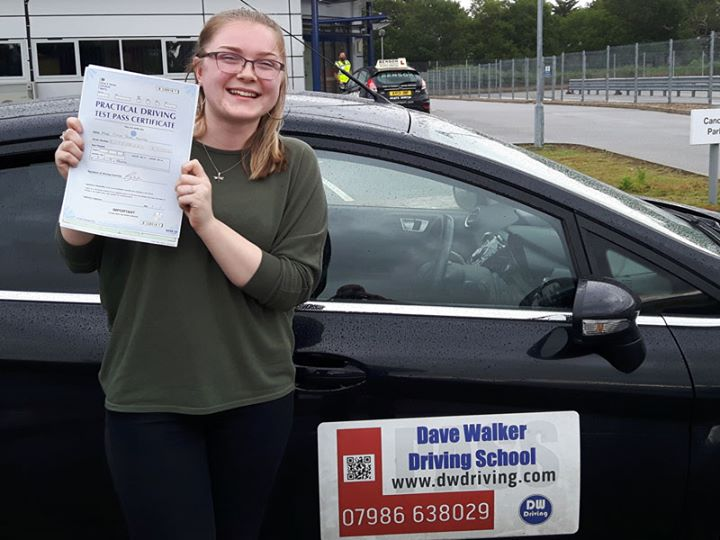 Driving lessons DebenhamVery well done Chloe Murray who passed her practical driving test at the Ipswich Driving Test centre on 7 June. Great that all your hard work has been rewarded and that you weren't 'Warwick Roaded'!